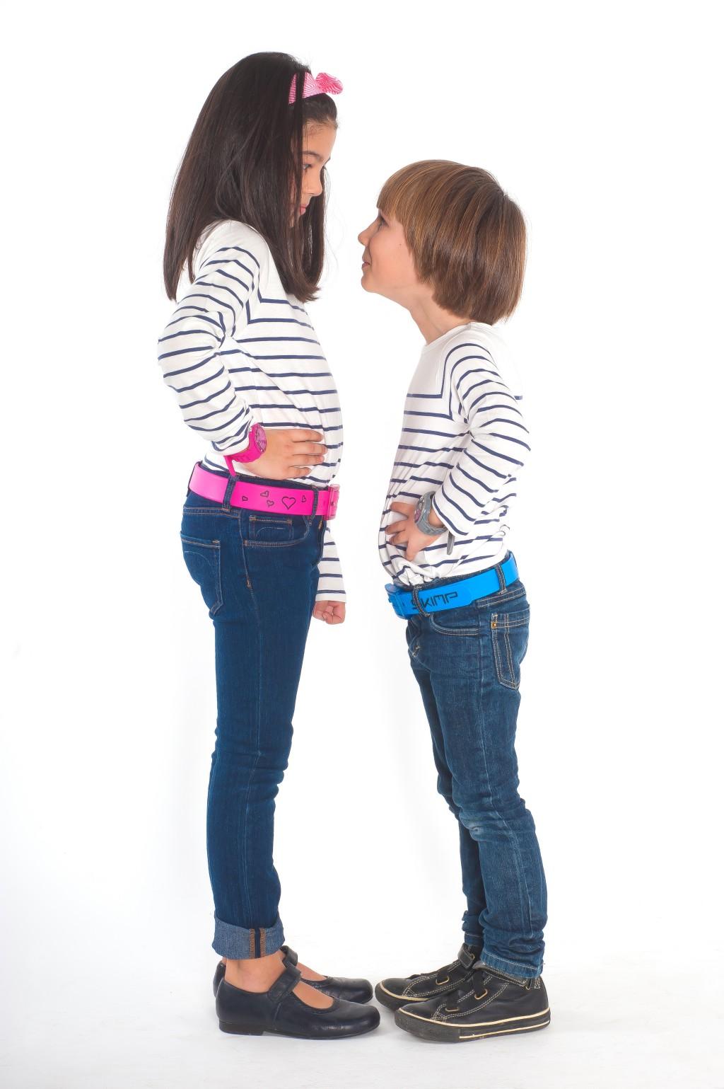 Skimp cinturon unisex sin metales para niños